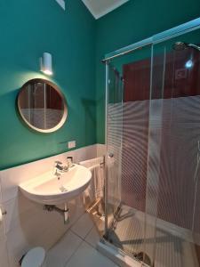 A bathroom at sarà Futura