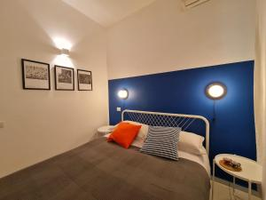 A bed or beds in a room at sarà Futura