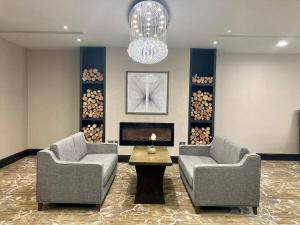 Zona de estar de DoubleTree by Hilton Hotel Nottingham - Gateway