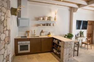 Una cocina o zona de cocina en Casas de San Pedro
