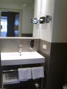 A bathroom at Hotel Schnookeloch