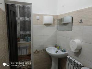 A bathroom at konok ART otel