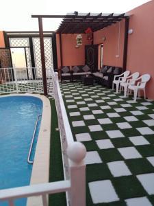 A piscina localizada em شاليهات ارام جده ou nos arredores