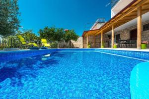 The swimming pool at or close to Vila Azur-Exceptional privacy- Fascinating sunsets