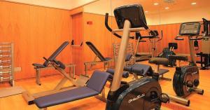Gimnasio o instalaciones de fitness de Hotel Continental Palma