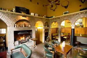 A restaurant or other place to eat at The Lodge at Castle Leslie Estate