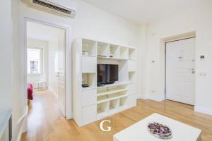 Uma TV ou centro de entretenimento em Residenza Gonfalone