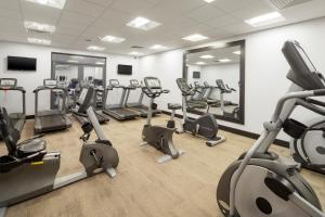 The fitness center and/or fitness facilities at Crowne Plaza Plymouth, an IHG Hotel