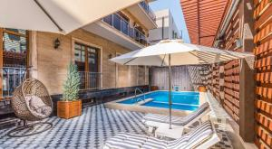 The swimming pool at or close to Repin hotel & restaurant