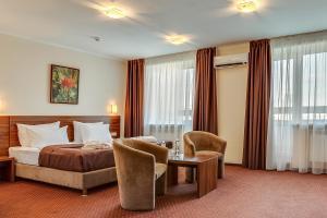 אזור ישיבה ב-Bratislava Hotel Kyiv