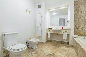Um banheiro em Hotel Fazenda Dona Carolina