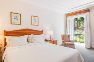 Cama ou camas em um quarto em Hotel Fazenda Dona Carolina
