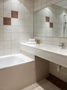 Et bad på Hotel Union Geiranger Bad & Spa