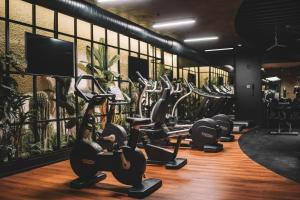 The fitness center and/or fitness facilities at Almira Hotel Thermal Spa & Convention Center