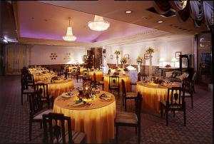 A restaurant or other place to eat at Hotel Rapport Senjukaku