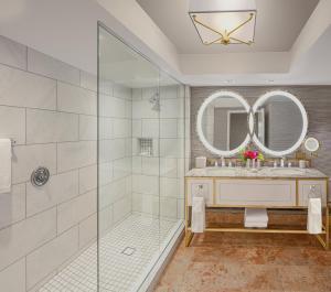 A bathroom at Bellagio