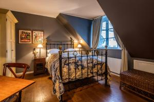 A bed or beds in a room at Villa Provence