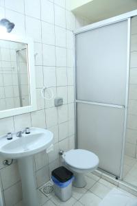 A bathroom at Pousada Mon Rève Canela