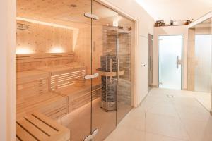 Ein Badezimmer in der Unterkunft Hotel Jagdhof