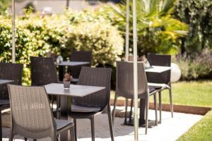 Ein Restaurant oder anderes Speiselokal in der Unterkunft Hotel Jagdhof