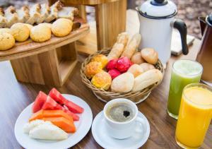 Завтрак для гостей Estanplaza Paulista
