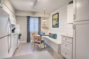 A kitchen or kitchenette at The Dunes Villa with Pool - 0 4 Mi to Beach!