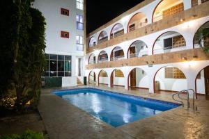 Piscina en o cerca de Hotel Maya Yucatan