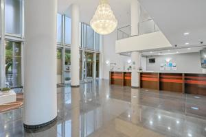 The lobby or reception area at Tweed Ultima Apartments