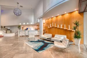 A seating area at Oceans Mooloolaba