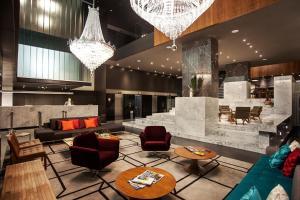 Vstupní hala nebo recepce v ubytování H Niteroi Hotel