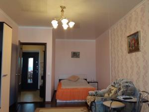 "A seating area at 1-к квартира ЖК ""Азимут"""