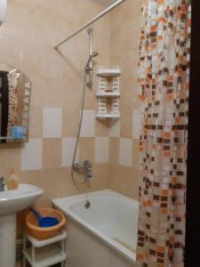 """A bathroom at 1-к квартира ЖК """"Азимут"""""""