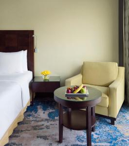 A seating area at Crowne Plaza Jeddah, an IHG Hotel