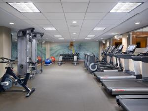 The fitness center and/or fitness facilities at The Westin Minneapolis