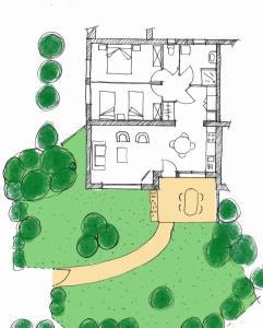 Plan de l'établissement Camping les vergers de Squividan ***