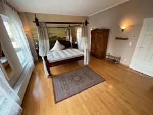 A bed or beds in a room at B&B Park Villa