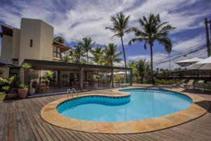 The swimming pool at or close to Mar Brasil Hotel