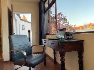 Zona de estar de Hotel Casa San Miguel