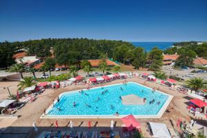 A view of the pool at Hotel Albatros Plava Laguna or nearby