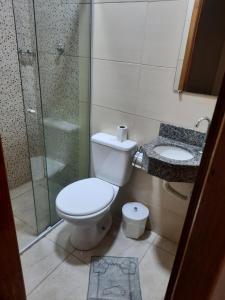 Um banheiro em Pousada Mãe Ternura palace