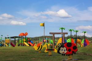 Children's play area at Hotel Monreale Resort