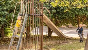 Children's play area at Wayfarer Inn Woodward