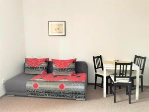 Posezení v ubytování Penzion Zelený Háj