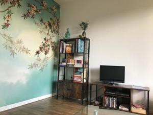 TV/Unterhaltungsangebot in der Unterkunft Apartment PRANINA Arcen
