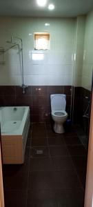 Um banheiro em Gabala Finiş Villa