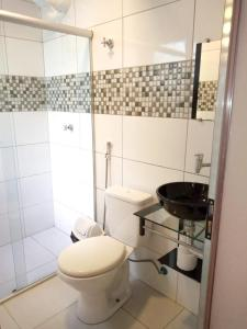 A bathroom at Hotel Rio Claro