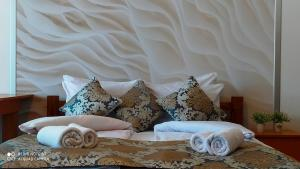 Krevet ili kreveti u jedinici u okviru objekta Apartmani - Vila Kovilje