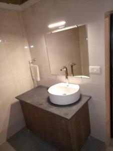 A bathroom at Blue planet