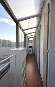 A balcony or terrace at Charming apartment close to the center