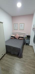 Cama o camas de una habitación en Apartamento Pueblo Sherry